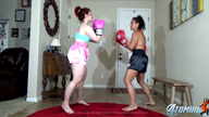 TOMIKO VS ANDREA ROSU FEMALE BOXING