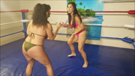 1531-Ass Smackin Fun - Bikini Catfight