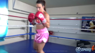 JENNIFER THOMAS POV BOXING