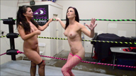 1538-Facesittin' Floozies 2 - Nude Wrestling