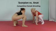 Scorpion vs. Anat: Competitive wrestling