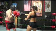 BOXING: Allie Parker vs Masked Man