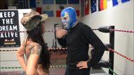 1616-AzulMan vs Jezabel – Pro Femdom Wrestling