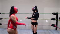 1565-Queen of the Tribe -Masked Foot Tickle Match