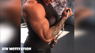 Watch me workout my strong body